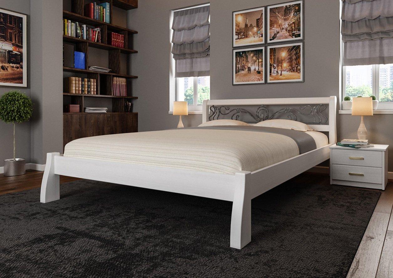 Кровать Ретро + Ковка 2