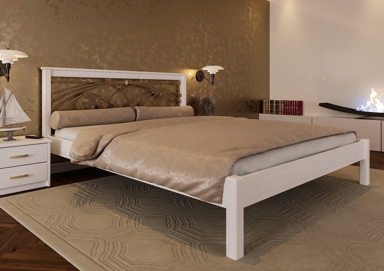Кровать Модерн + Ковка 2