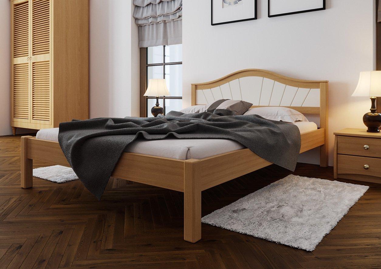 Ліжко Італія + М'яка вставка 2