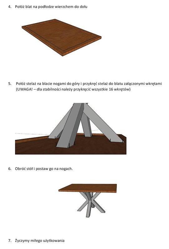 Стол CROSS DAB 3