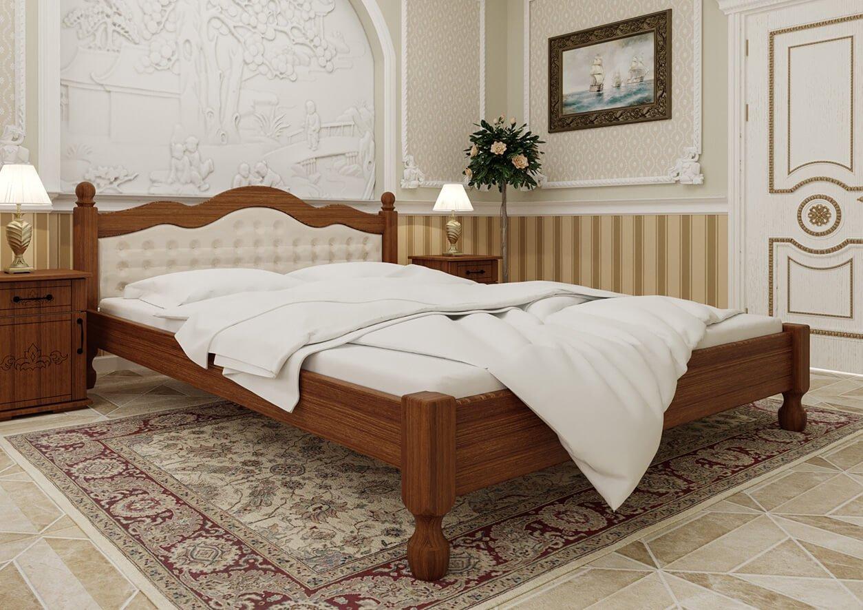 Кровать Магнолия (мягкая спинка) 4