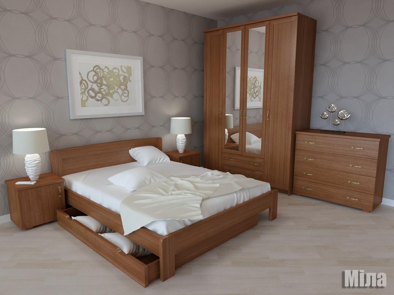 Кровать Мила 4