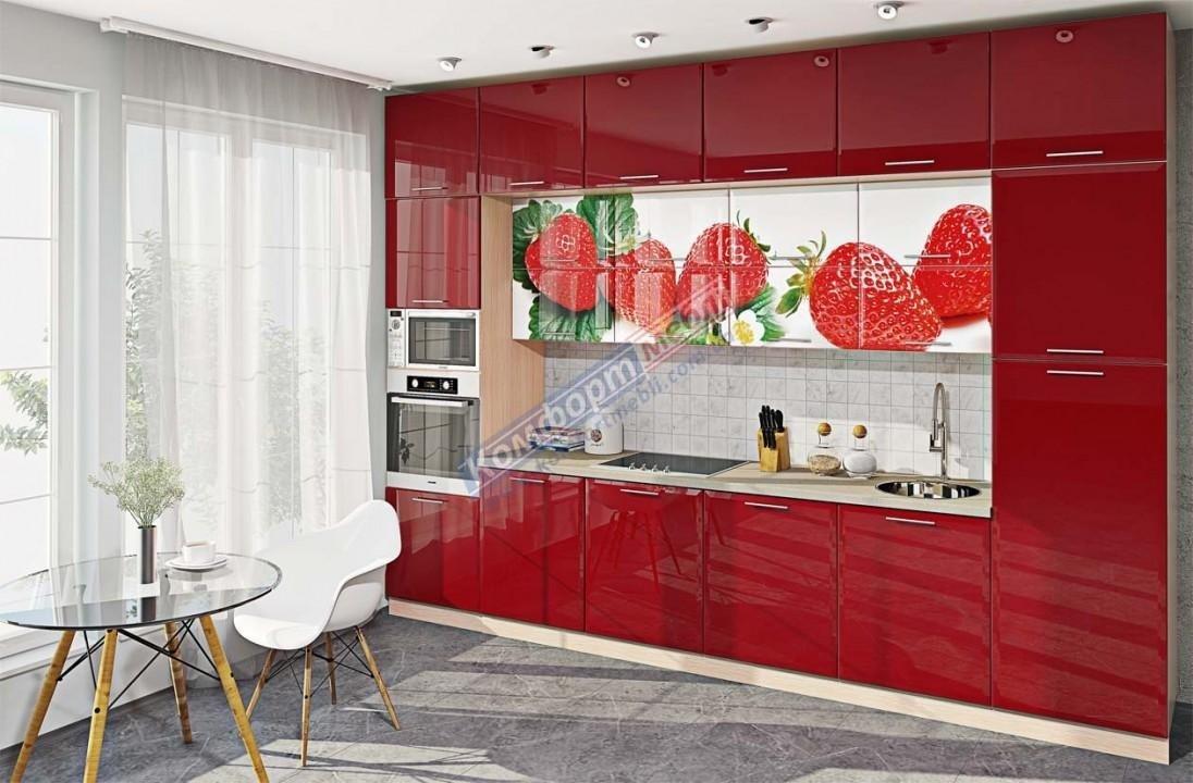 Модульна кухня Хай-тек глянець 18