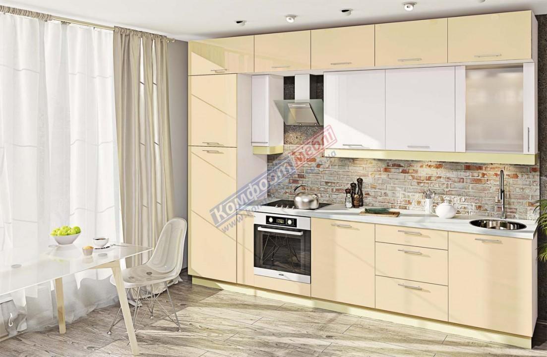 Модульна кухня Фарбований високий глянець  11