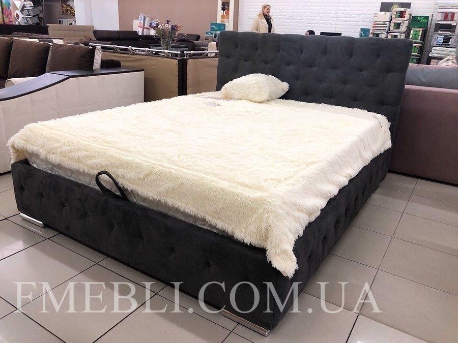 Ліжко Арабель з підйомним механізмом + ВІДЕООГЛЯД 6