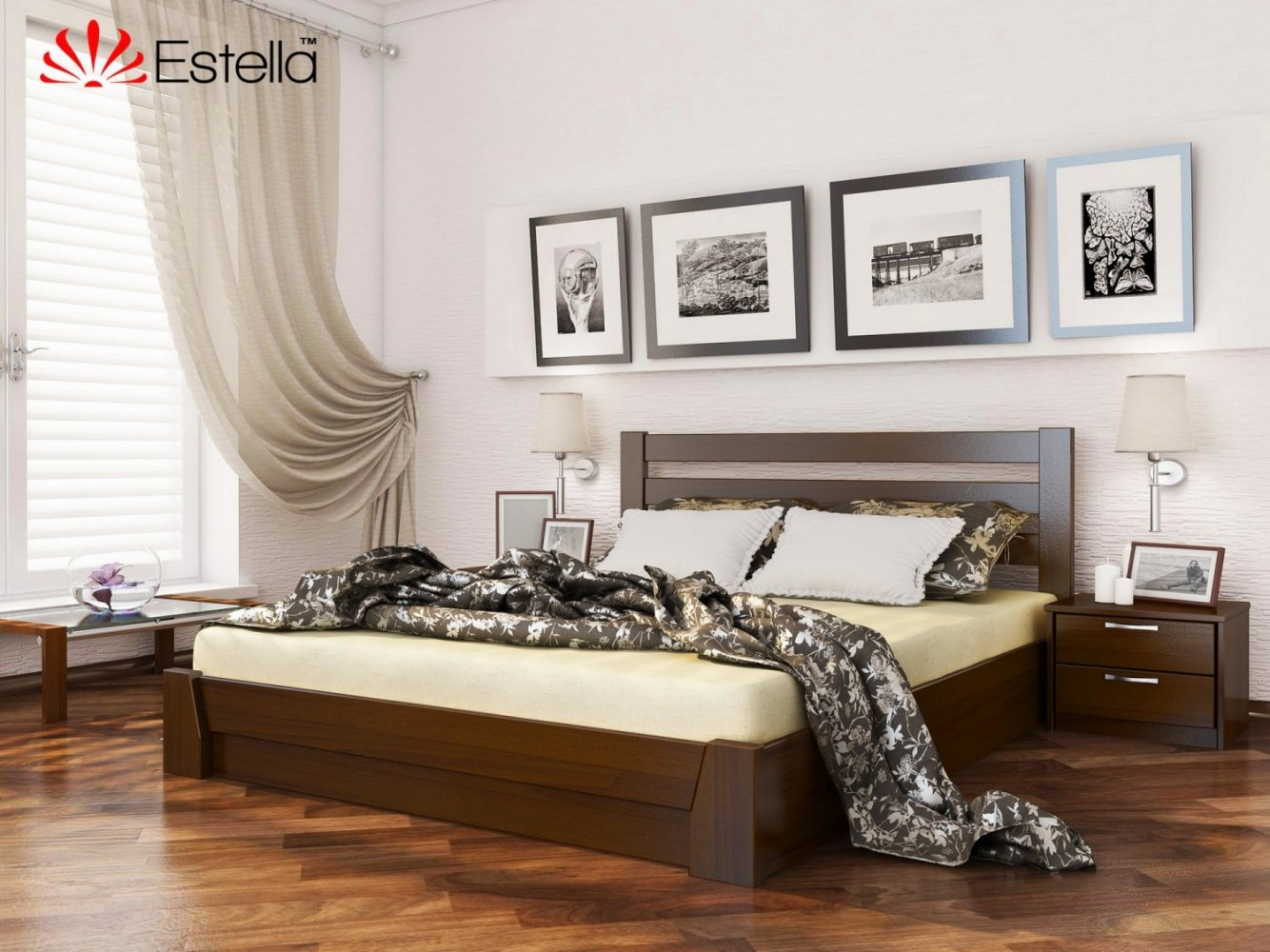 Ліжко Селена з підйомником 6