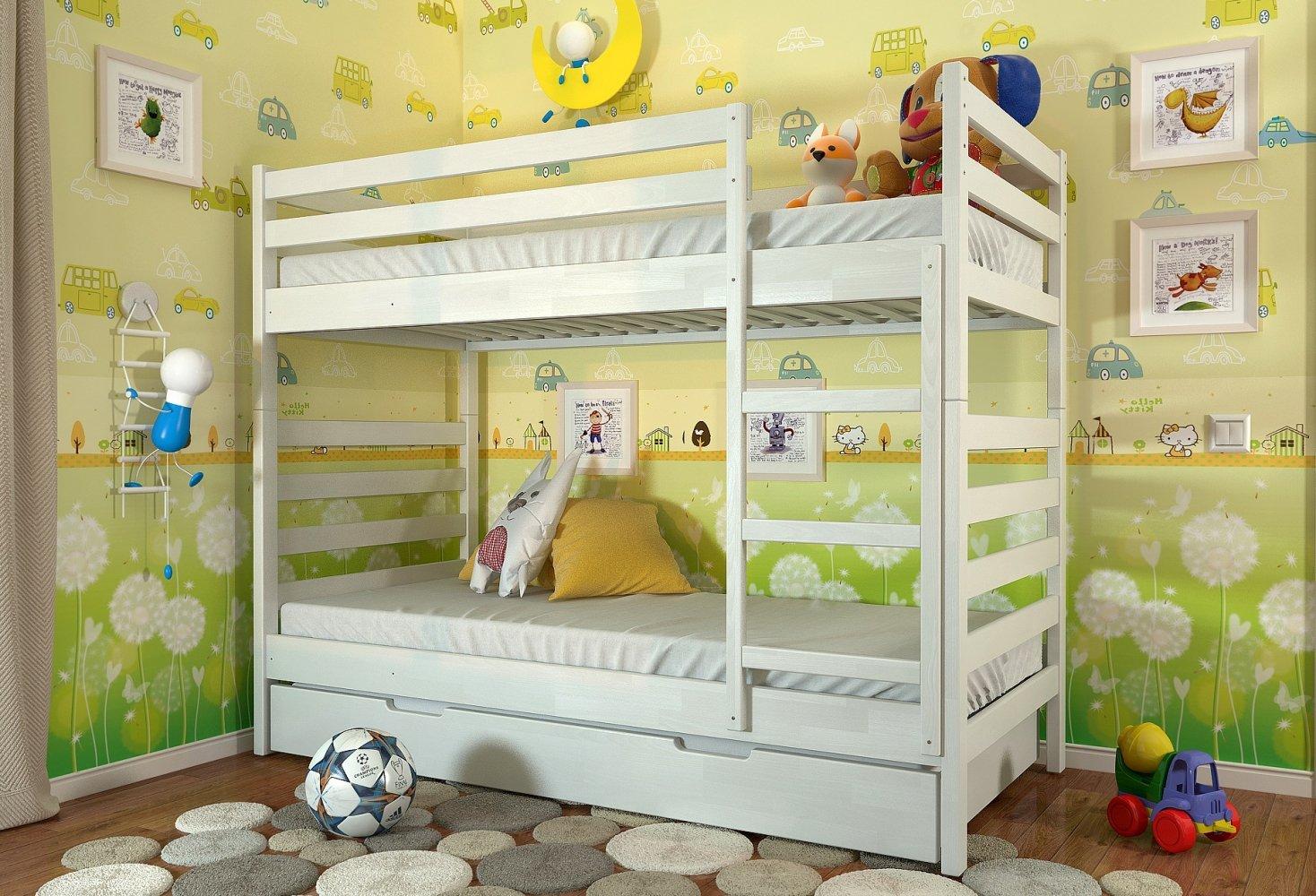 Двухьярусная кровать Рио 1