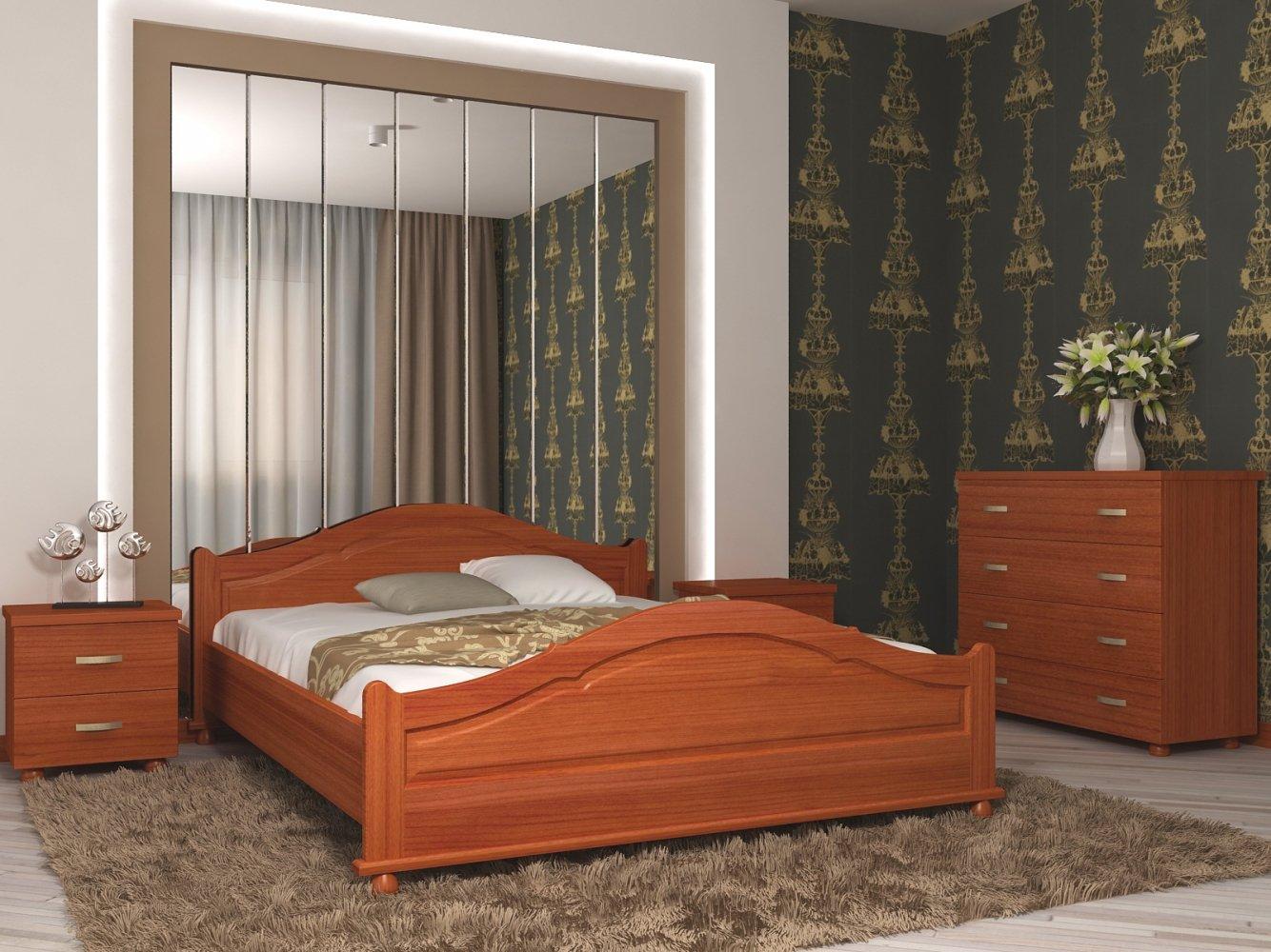 Ліжко Орхідея 3