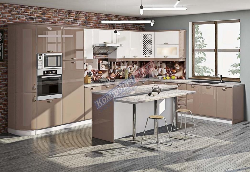 Модульна кухня Хай-тек глянець 28
