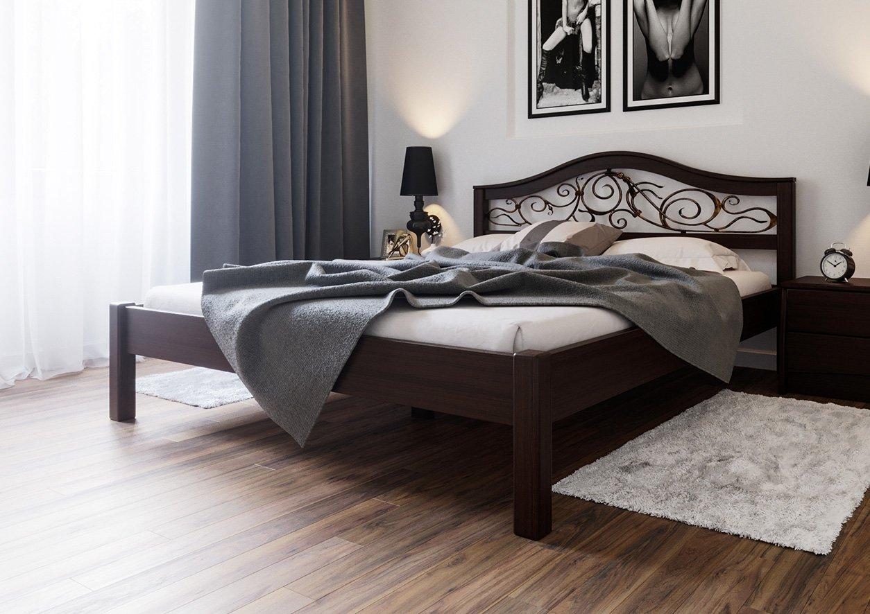 Ліжко Італія + Ковка 3