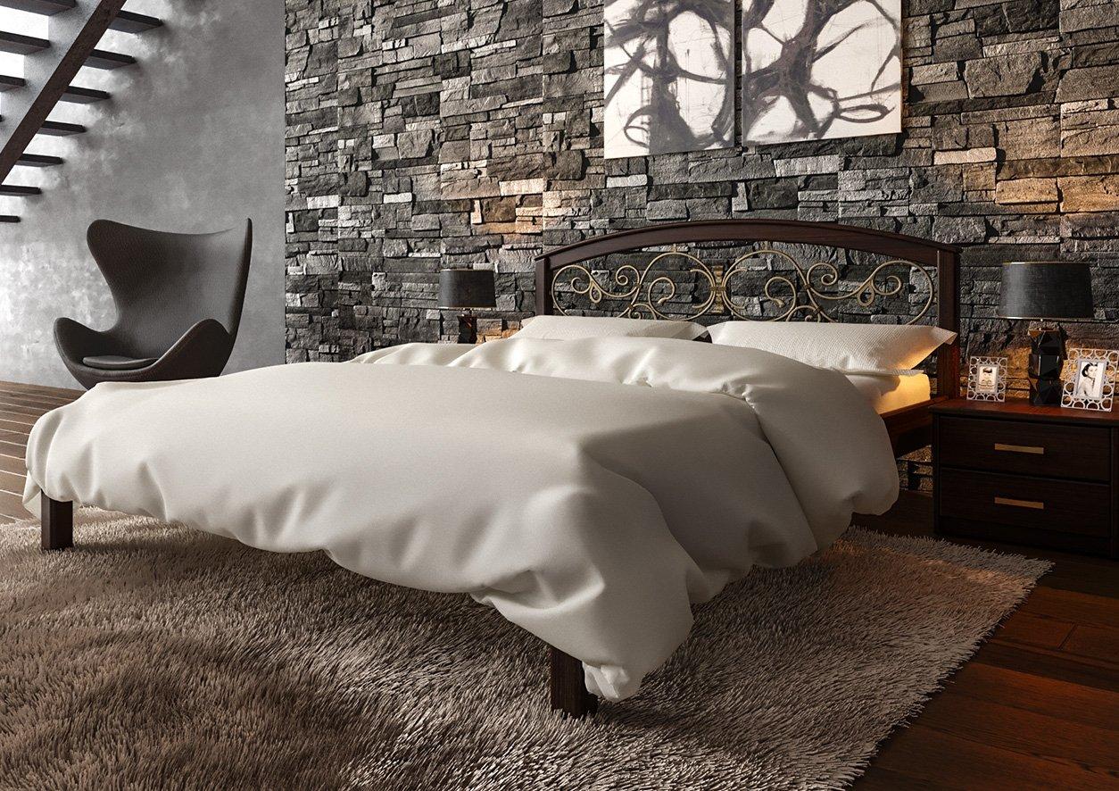 Ліжко Британія + Ковка 4