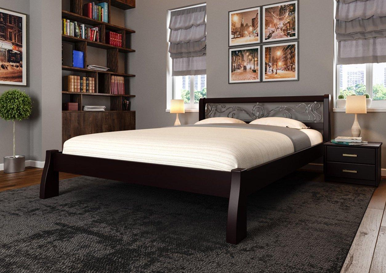 Кровать Ретро + Ковка 4