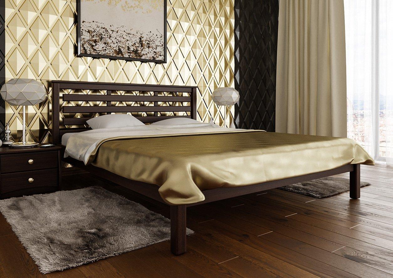 Ліжко Модерн (тверда спинка) 0