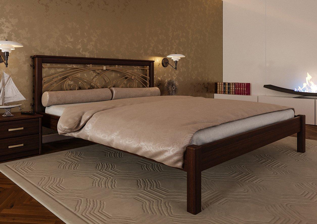 Кровать Модерн + Ковка 0