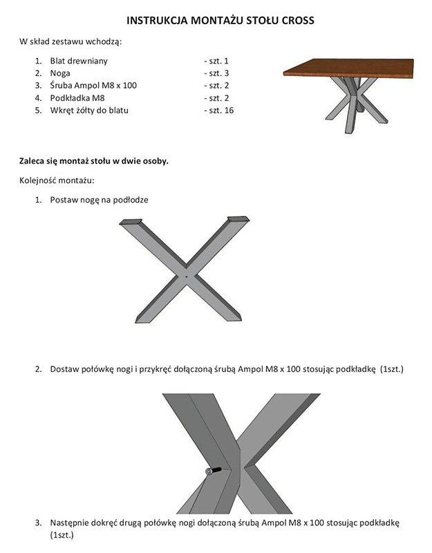 Стол CROSS DAB 2