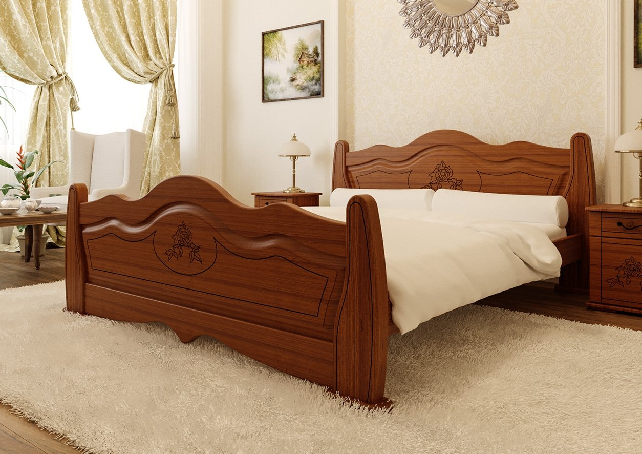 Кровать Мальва Премиум 3