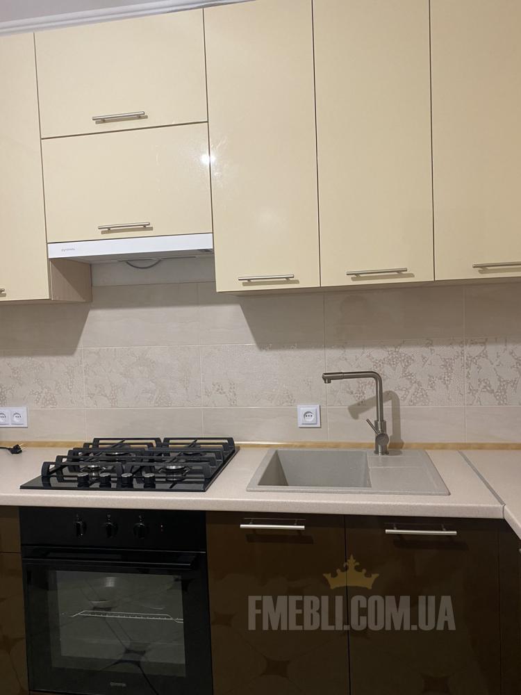 Модульна кухня Фарбований високий глянець  3