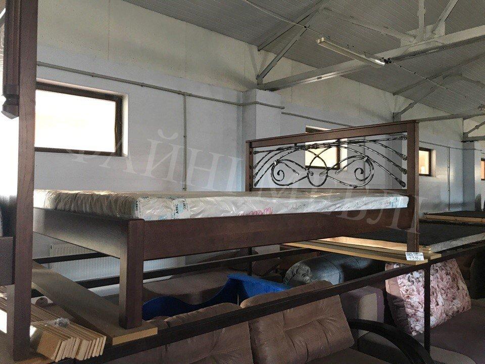 Кровать Модерн + Ковка 8
