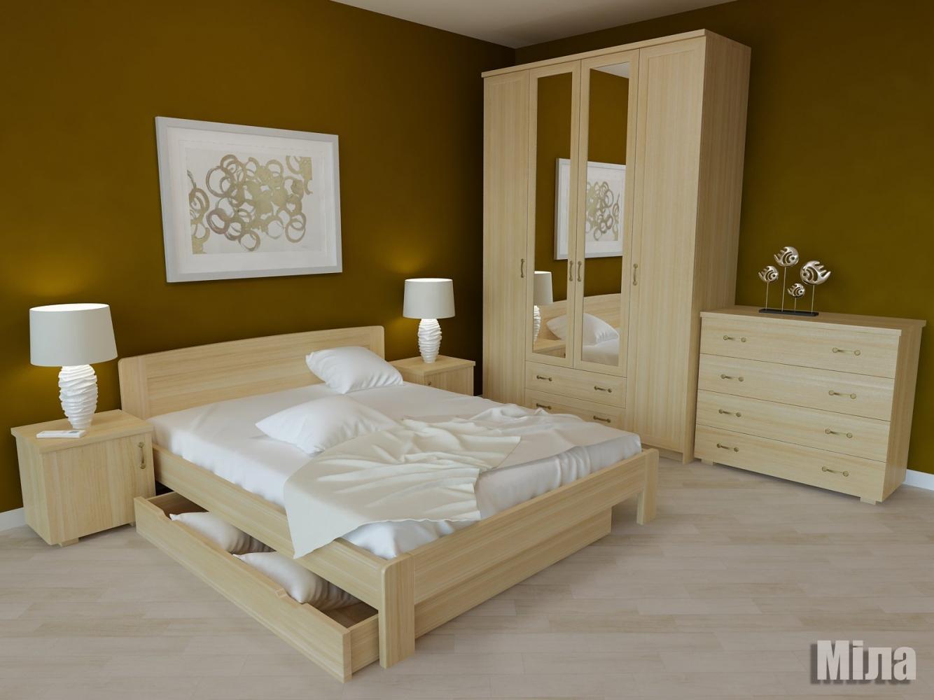 Кровать Мила 3