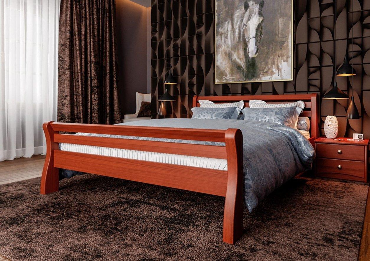 Кровать Ретро (твердая спинка) 5