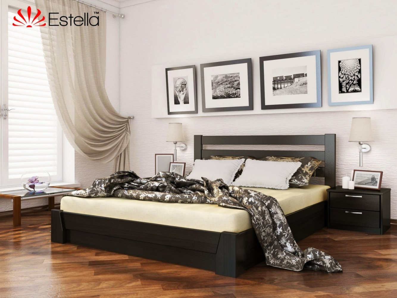 Ліжко Селена з підйомником 4