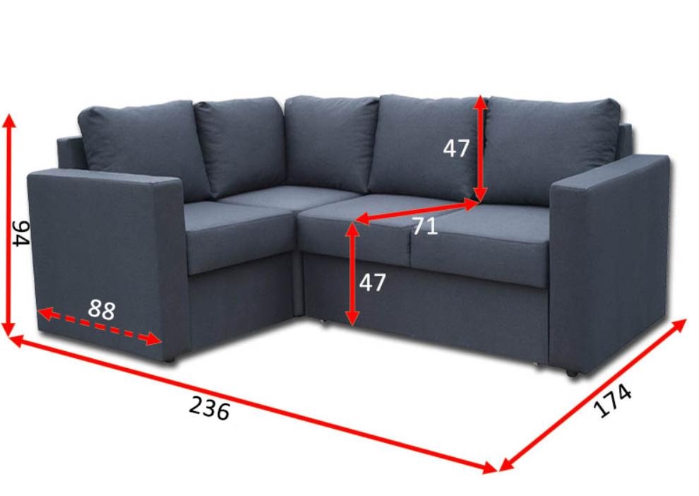 Кутовий диван Чікаго 21-А 2