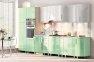 Модульна кухня Хай-тек глянець перламутр 20