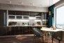Кухня Mirror Gloss 1