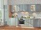 Модульна кухня Хай-тек глянець перламутр 53