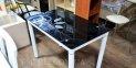 Кухонний стіл з термоскла 0