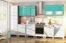 Модульна кухня Хай-тек глянець перламутр 22