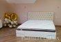 Ліжко Камелія ромб з ПМ Білий 0