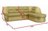 Угловой диван Посейдон 13