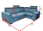 Кутовий диван Метро 8