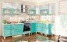 Модульна кухня Хай-тек глянець перламутр 7