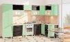 Модульна кухня Хай-тек глянець перламутр 52