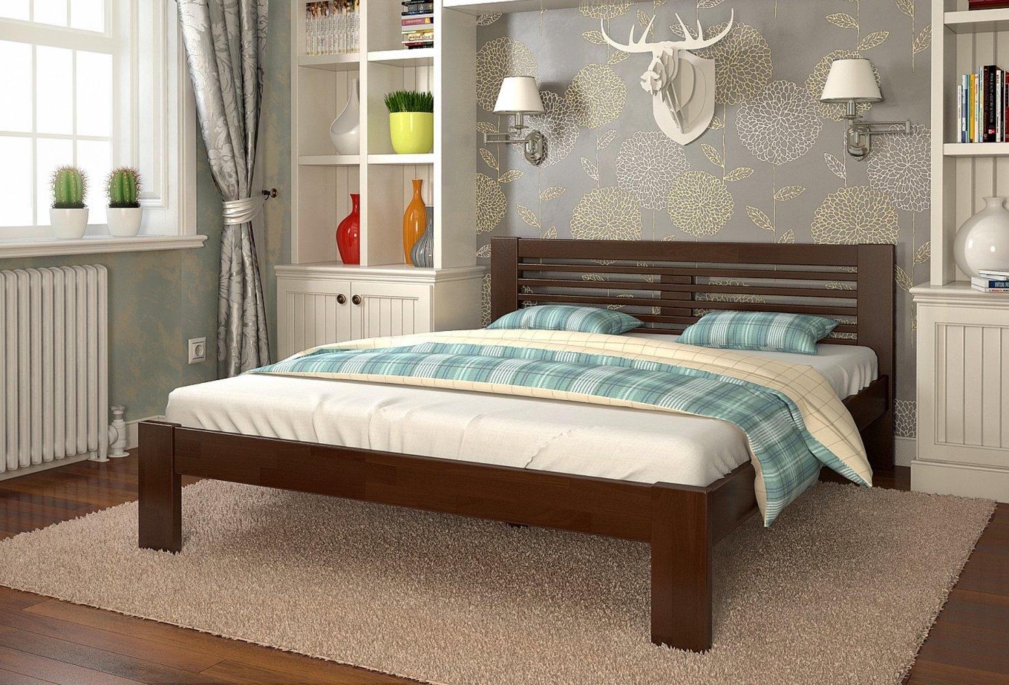 ліжко з ясену