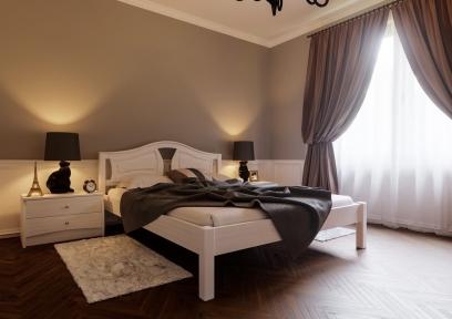 Ліжко Італія ( тверда спинка)