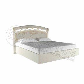 Ліжко 160 з каркасом тверда спинка Роселла