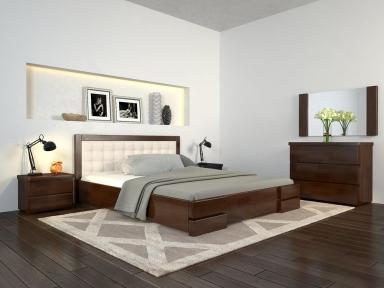 Кровать Регина Люкс с подъемным механизмом + Видеообзор