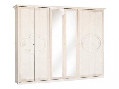Шкаф 6Д с зеркалом Опера