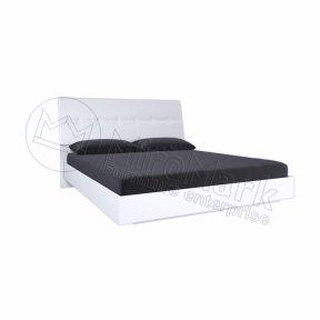Ліжко без каркасу з м'якою спинкою Рома