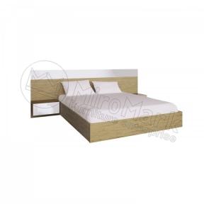Ліжко з тумбами і каркасом Соната