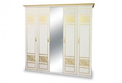 Шкаф 5Д с зеркалом Полина Новая