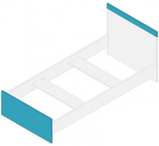 Кровать  LOZ/90 Моби