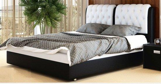 Ліжко Скарлет з підйомним механізмом + Відеоогляд