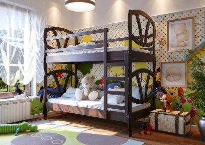 Двоярусне ліжко Вікторія 2