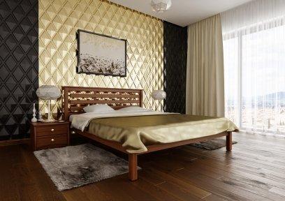 Ліжко Модерн (тверда спинка)