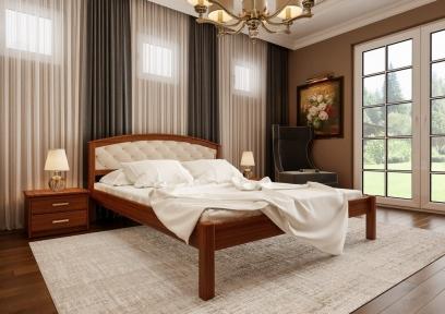 Ліжко Британія + М'яка вставка