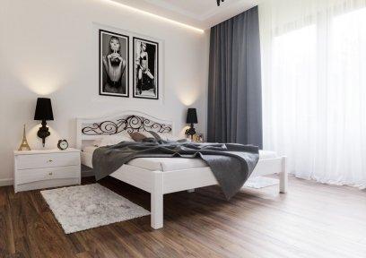 Кровать Италия + Ковка